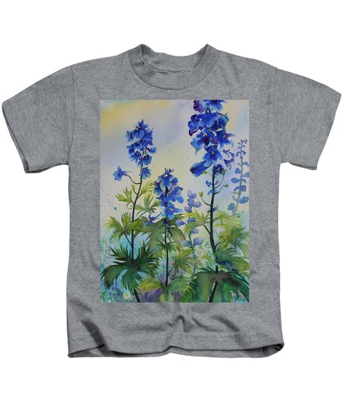Delphiniums Kids T-Shirt