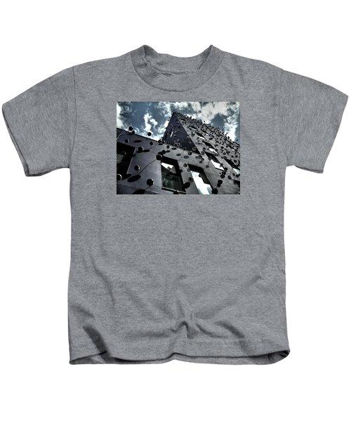 Fachada Con Los Ojos - Barcelona Kids T-Shirt