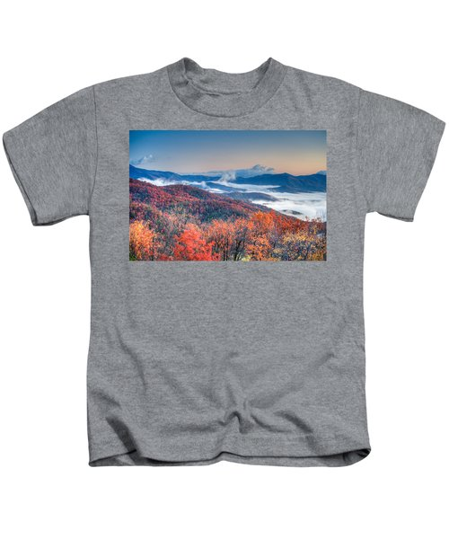 Fall Fog 1 Kids T-Shirt