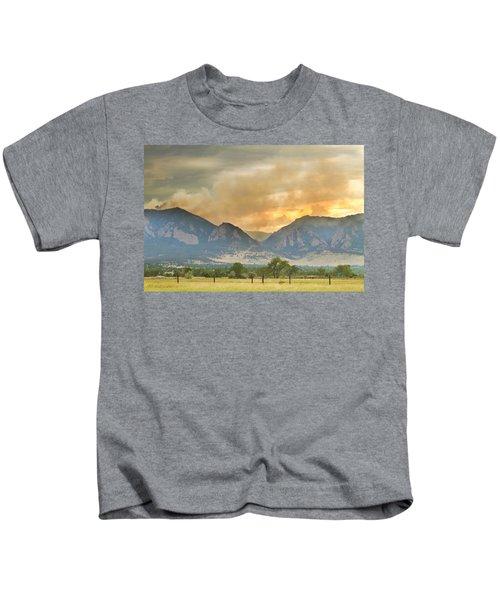 Flagstaff Fire View Kids T-Shirt