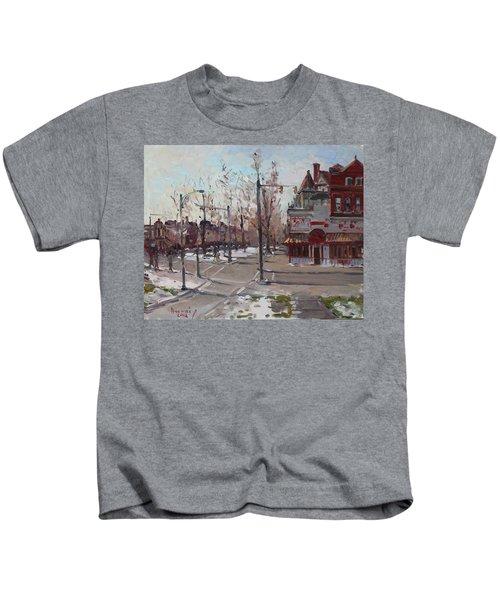 Four Corners At Bidwell Parkway Kids T-Shirt