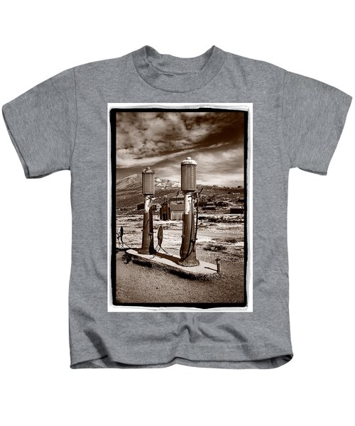 Fuel Pumps And Firehouse In Bodie Kids T-Shirt