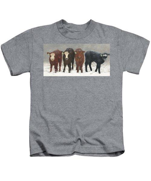 Inquisitive Calves Kids T-Shirt