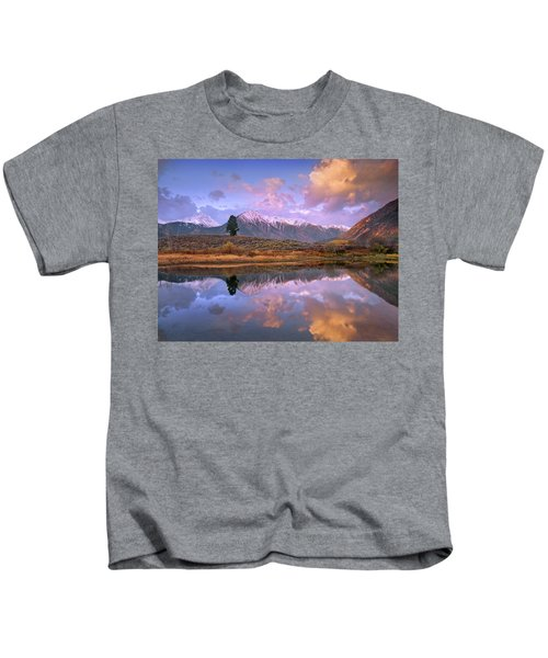 La Plata And Twin Peaks In The Sawatch Kids T-Shirt