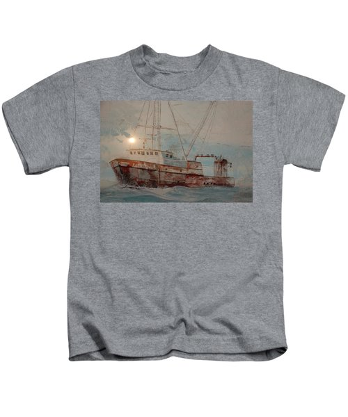Lost At Sea Kids T-Shirt