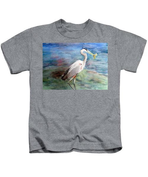 Lunchtime Watercolour Kids T-Shirt