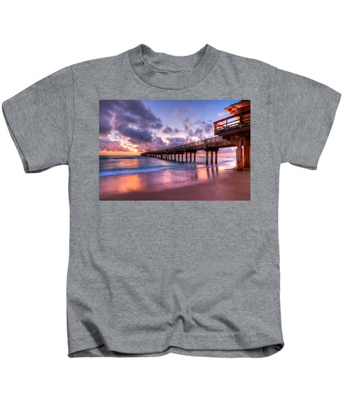 Morning Pier Kids T-Shirt