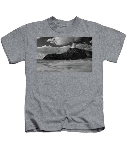 Niwbwrch Lighthouse Kids T-Shirt