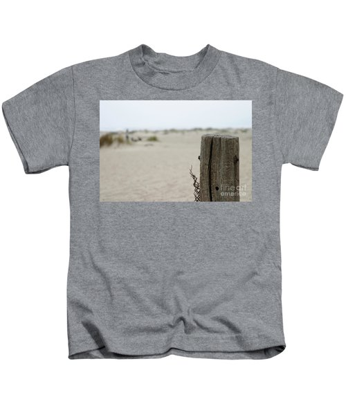 Old Fence Pole Kids T-Shirt