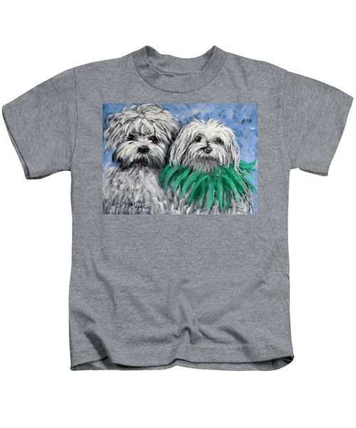 Parade Pups Kids T-Shirt