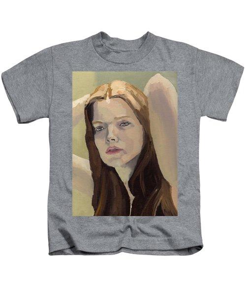 Portrait Of Ashley Kids T-Shirt