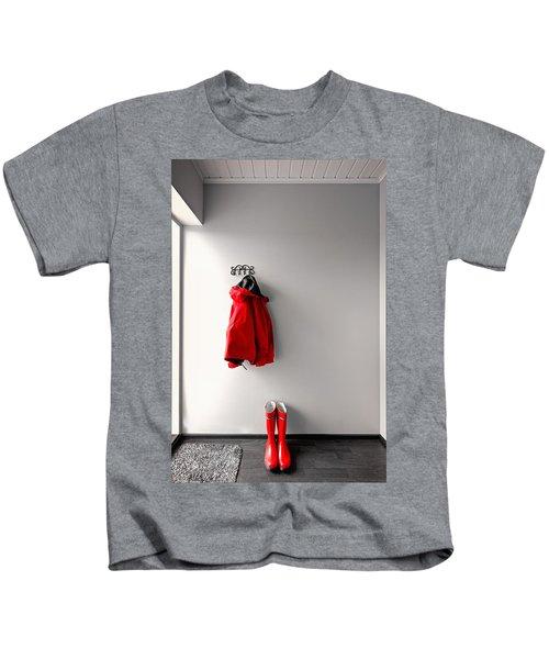 Ready For Rain Kids T-Shirt