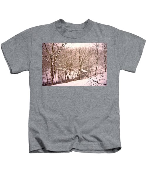 Snowy Country Day Kids T-Shirt