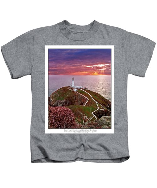 South Stack Lighthouse Kids T-Shirt