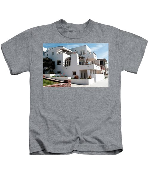 Strand Architecture Manhattan Beach Kids T-Shirt