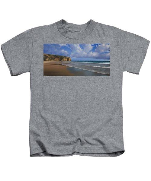 Strands Beach Dana Point Painting Kids T-Shirt