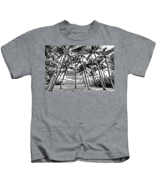Sunset Grove At Palm Beach Kids T-Shirt