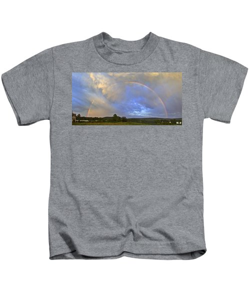 Sunset Rainbow Kids T-Shirt