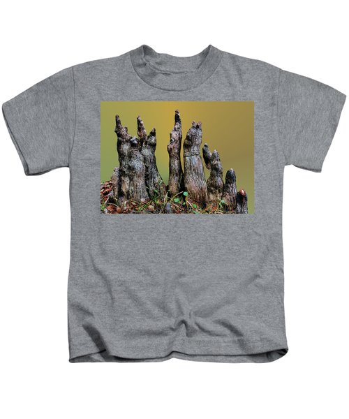 The Cypress Knees Chorus Kids T-Shirt