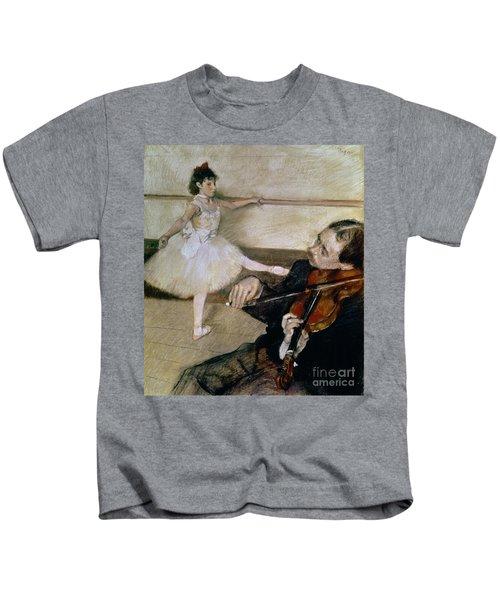 The Dance Lesson Kids T-Shirt