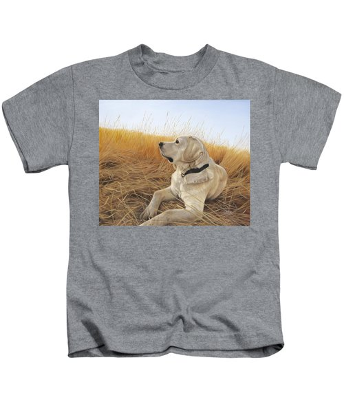 Waiting For The Birds Kids T-Shirt