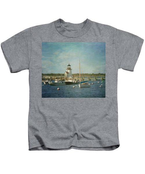 Welcome To Nantucket Kids T-Shirt