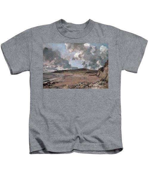 Weymouth Bay With Jordan Hill Kids T-Shirt