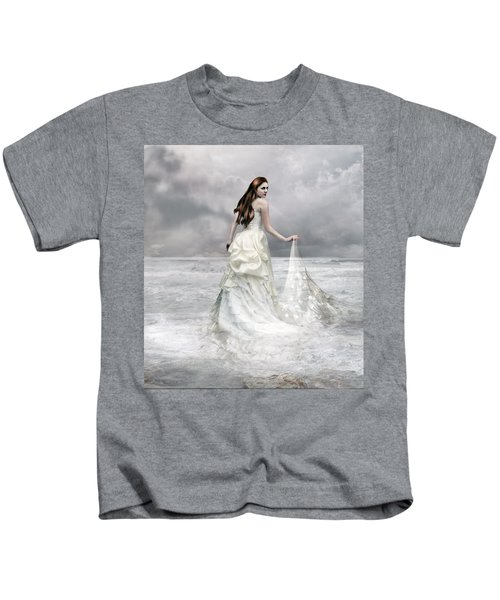 Whispered Waves Kids T-Shirt