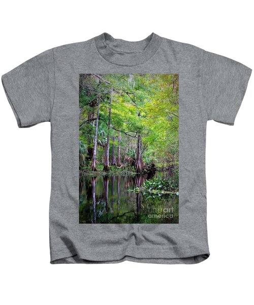 Wild Florida - Hillsborough River Kids T-Shirt