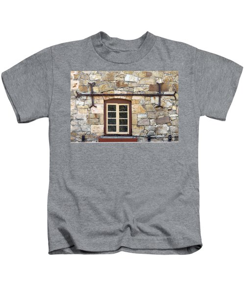 Window Into The Past Kids T-Shirt