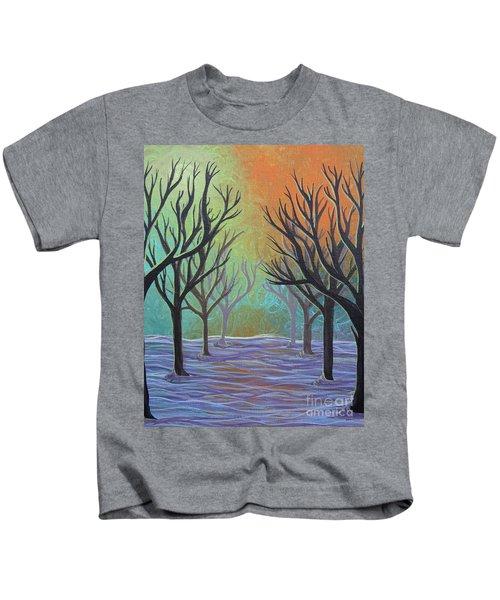 Winter Solitude 11 Kids T-Shirt