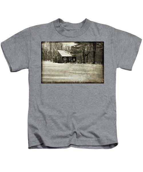 Winter Textures Kids T-Shirt
