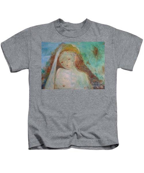 Woman Of Sorrows Kids T-Shirt