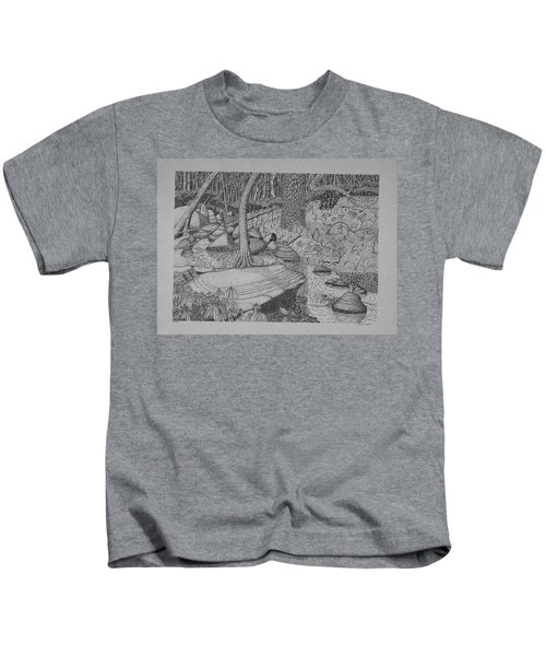 Woodland Stream Kids T-Shirt