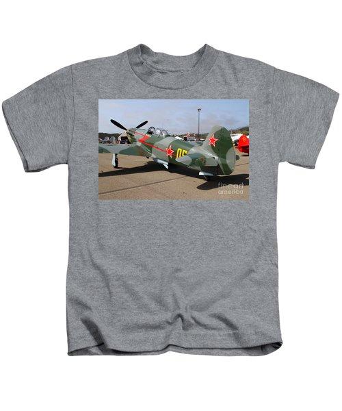 Yak 9u Airplane . 7d15792 Kids T-Shirt