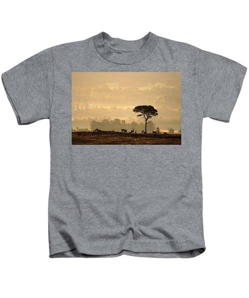 Autumn Morning, Strathglass Kids T-Shirt