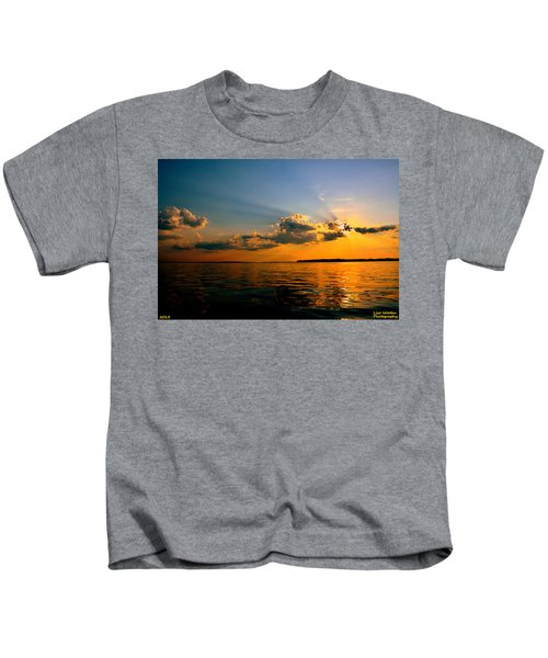 Perfect Ending To A Perfect Day Kids T-Shirt