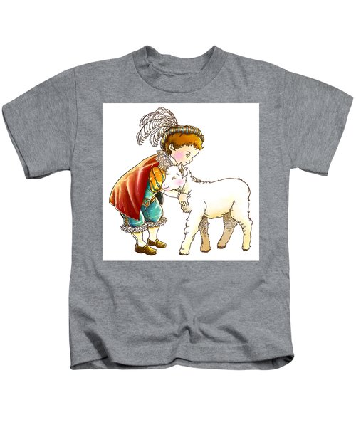 Prince Richard And His New Friend Kids T-Shirt