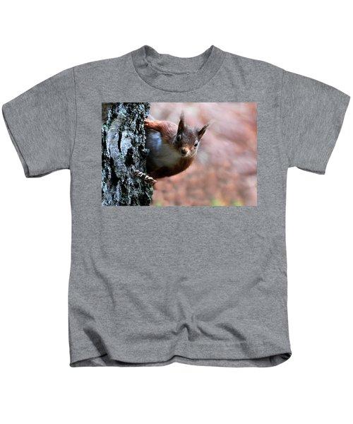Red Squirrel Kids T-Shirt