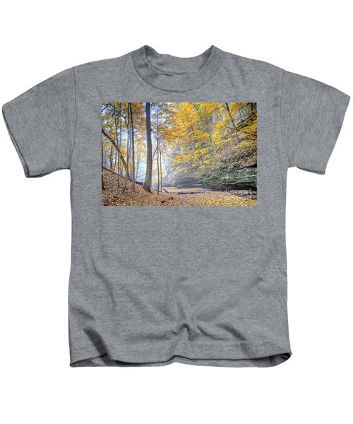 0983 Starved Rock Colors Kids T-Shirt