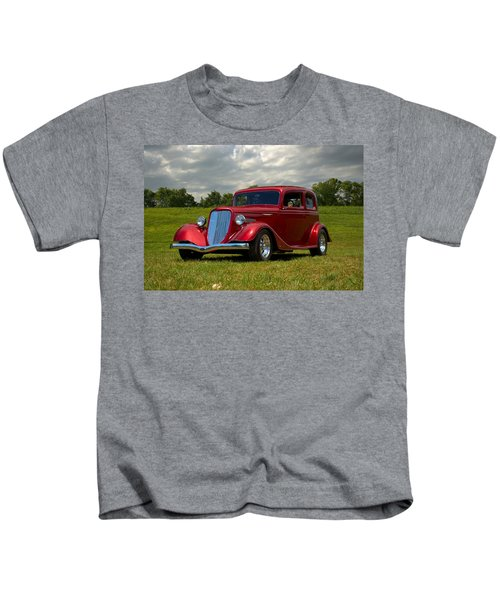 1933 Ford Vicky Hot Rod Kids T-Shirt
