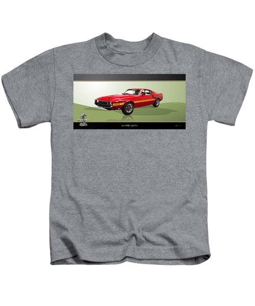 1969 Shelby V8 Gt350  Kids T-Shirt