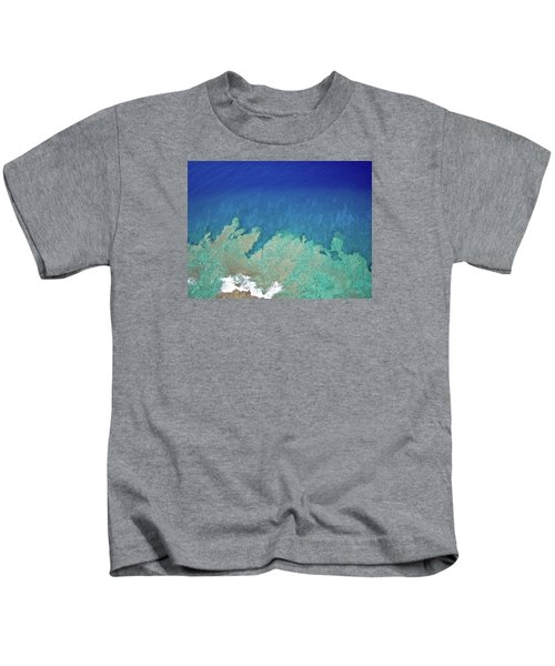 Abstract Aerial Reef Kids T-Shirt