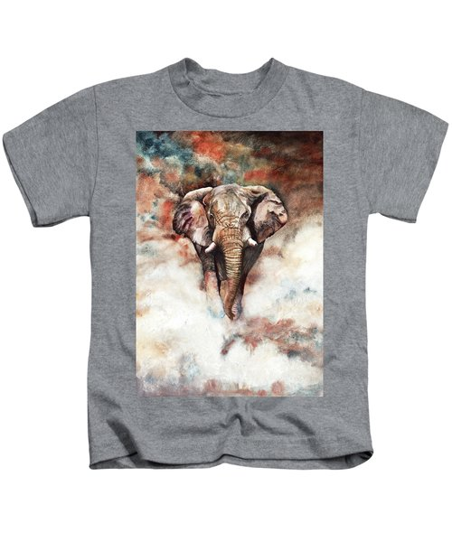 Approaching Menace Kids T-Shirt