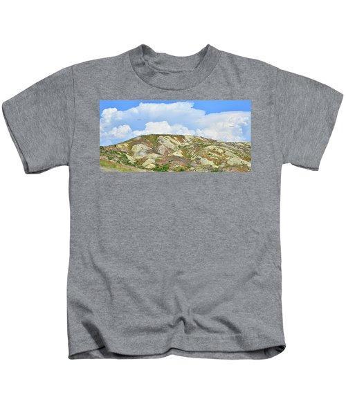 Badlands In Wyoming Kids T-Shirt