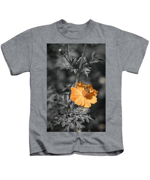 Bee On Flower Kids T-Shirt