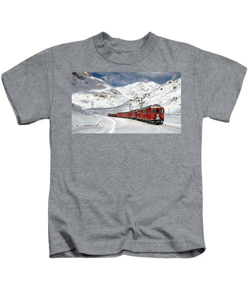 Bernina Winter Express Kids T-Shirt