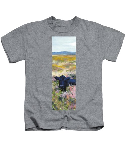 Black Cow Dartmoor Kids T-Shirt