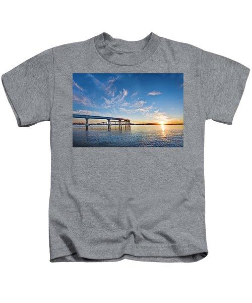 Bridge Sunrise Kids T-Shirt