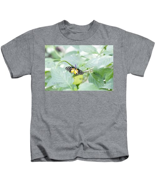 Tiger Butterfly Kids T-Shirt